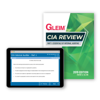 Gleim CIA Part1 Kitap ve Soru Bankası 2019