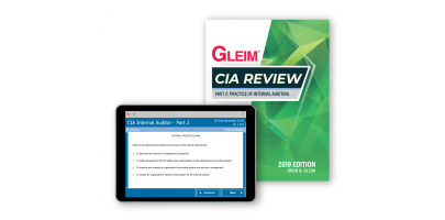 Gleim CIA Part 2 Book and Test Bank 2019
