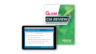 Gleim CIA Part3 Book and Test Bank 2019