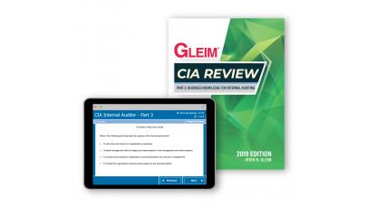 Gleim CIA Part3 Kitap ve Soru Bankası 2019