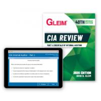 Gleim CIA Part1 Kitap ve Soru Bankası 2021