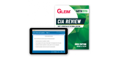 Gleim CIA Part1 Book and Test Bank 2020