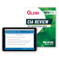 Gleim CIA Part 2 Book and Test Bank 2020