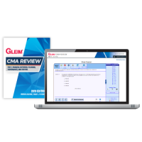 Gleim CMA Part1 Book and Mega Test Bank 2019