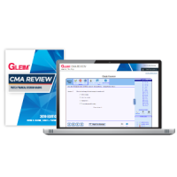 Gleim CMA Part2 Book and Mega Test Bank 2019