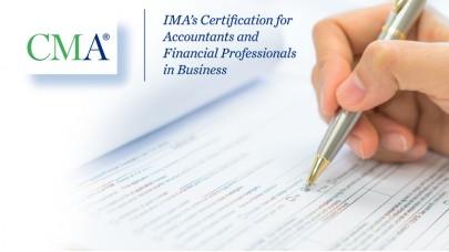 CMA Sertifikası Hazırlık Programı