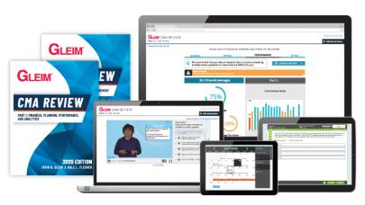 Gleim CMA Premium Uzaktan Eğitim Seti 2021